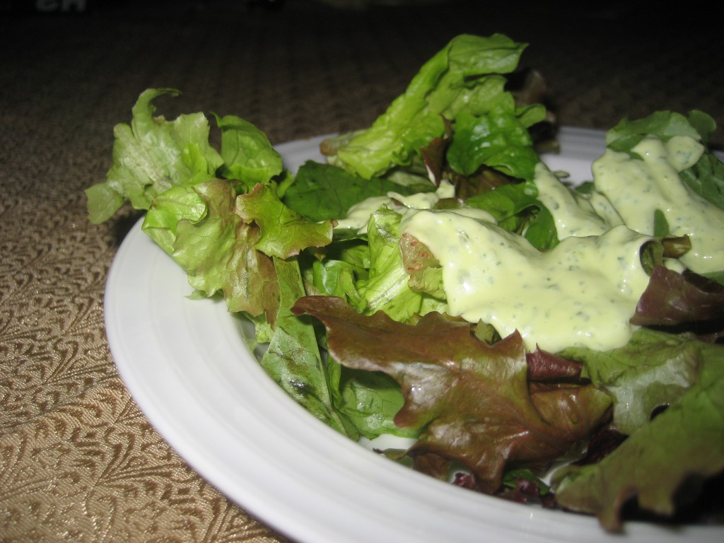 Tangy Avocado Dressing