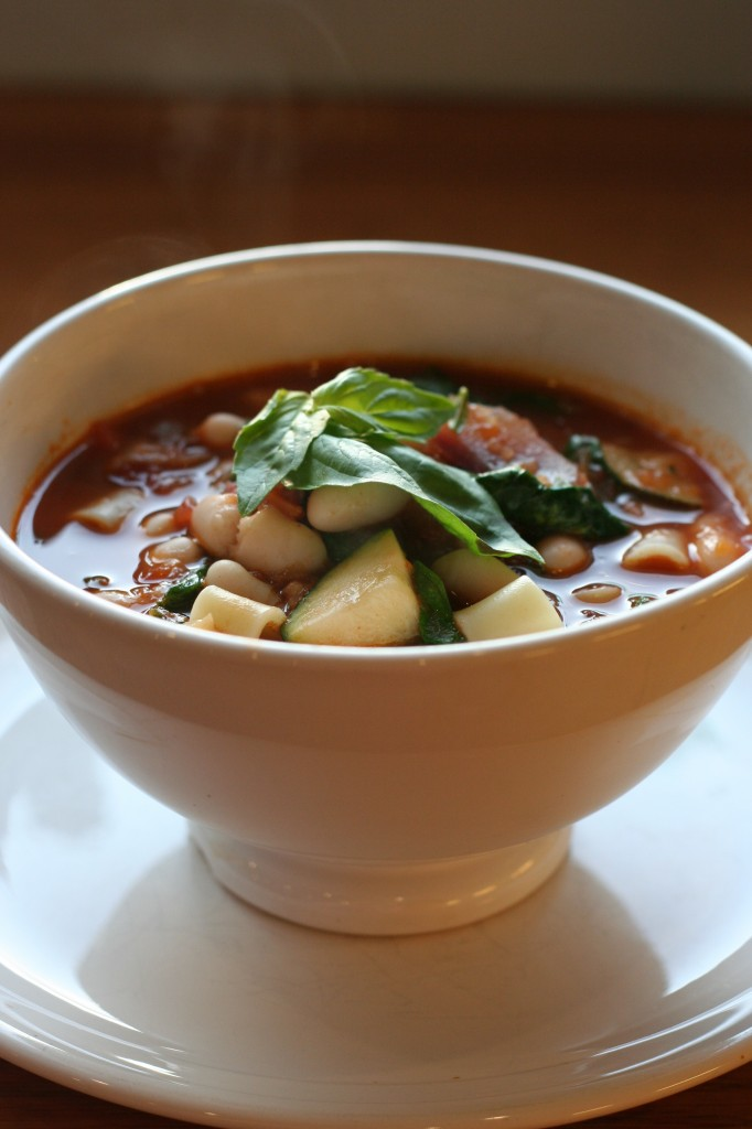 early autumn minestrone