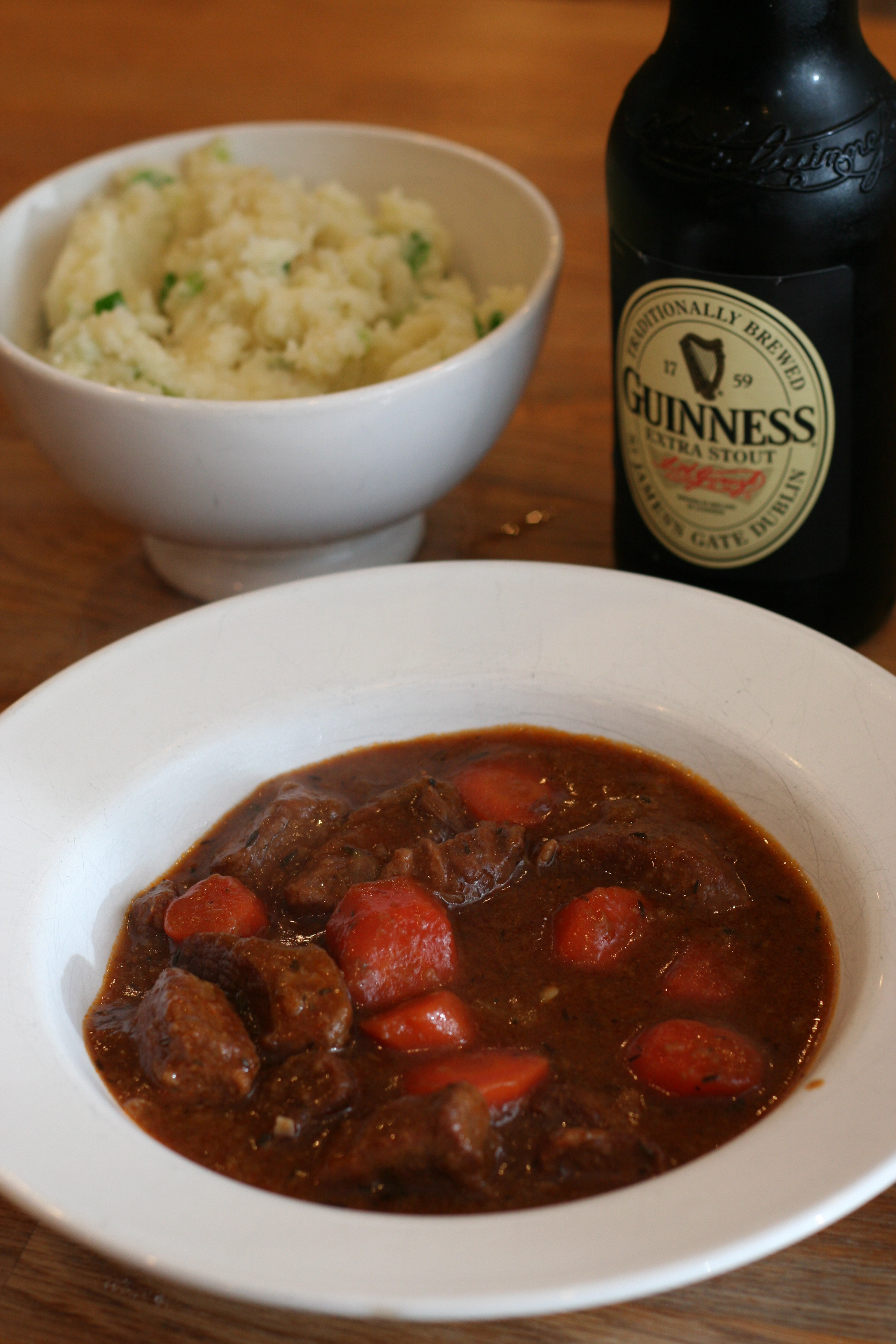 Beef and Guinness Stew with Champ