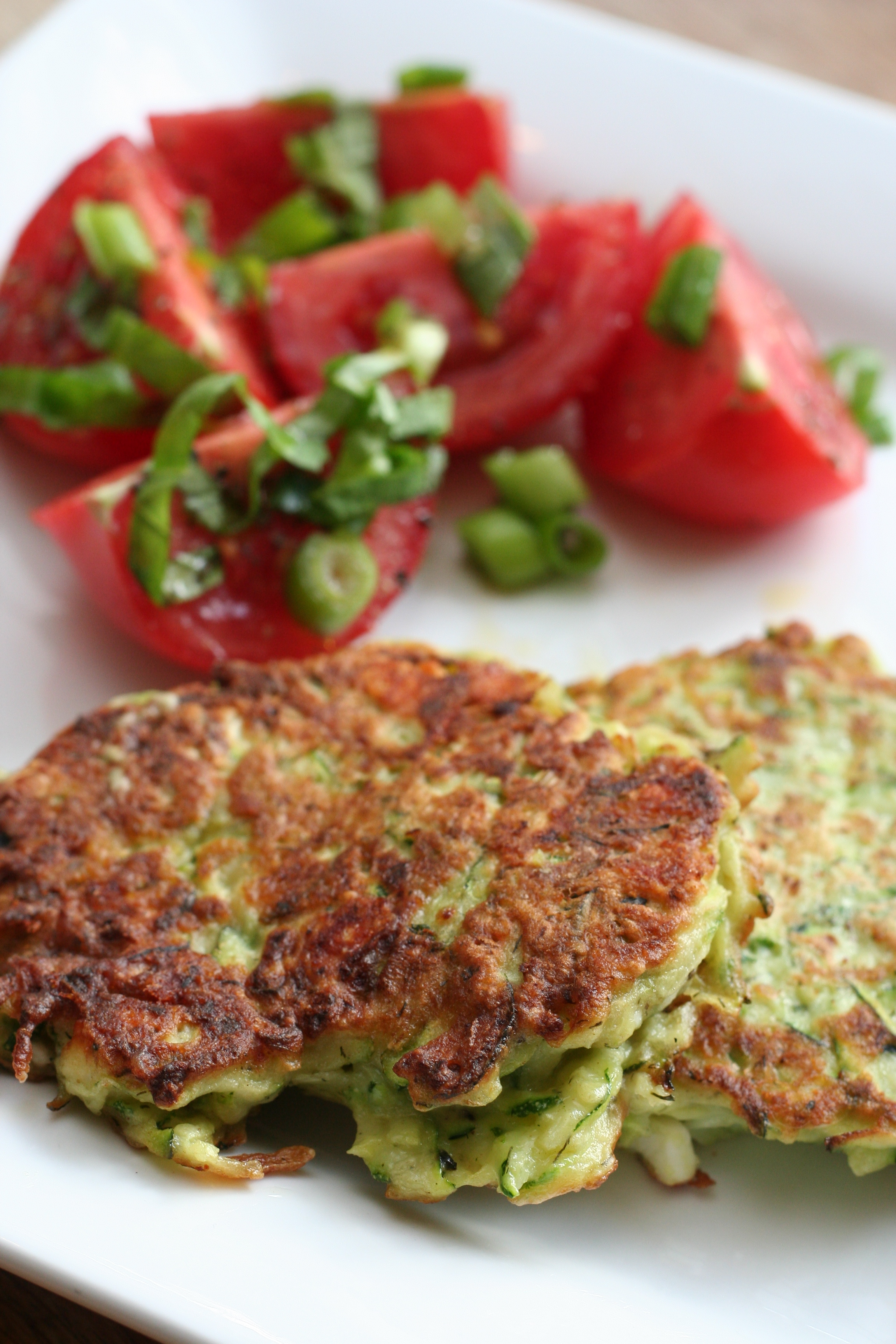 recipe: tomato and feta fritters [16]