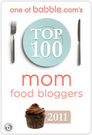 Babble.com Top 100 Food Mom Blogger 2011