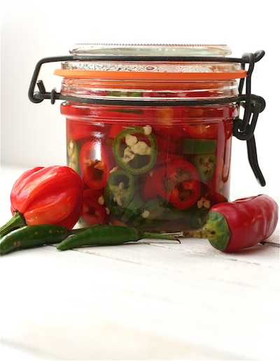 Quick Pickled Chillies // Dinner du Jour